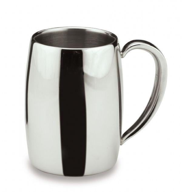 Bellux Double Wall Coffee Mug - Mirror Finish